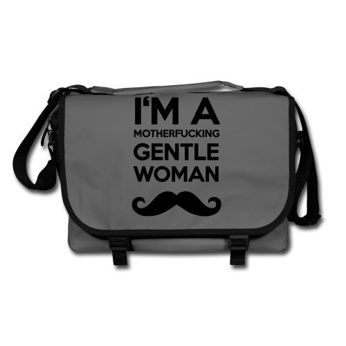 I'M A MOTHERFUCKING GENTLEWOMAN MOUSTACHE