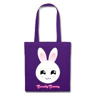 Beauty Bunny Smiley Hase Tasche Beutel