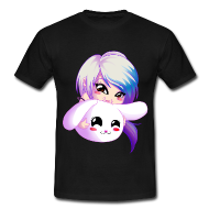 Chibi Girl Manga Bunny Kawaii Cosplay T-Shirt Boy