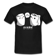 Marshi Mike & Toilet Paper by Chosen Vowels - T-Shirt BOYS