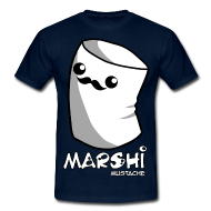 Marshi Moustache LIKE A SIR by Chosen Vowels - Shirt BOYS