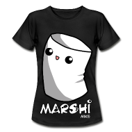 Marshi Mike Marshmallow by Chosen Vowels - Shirt Girls