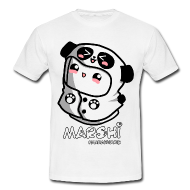 Marshi Panda Hoodie by Chosen Vowels - Shirt Girls