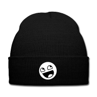 Awesome Smiley Mütze Beanie