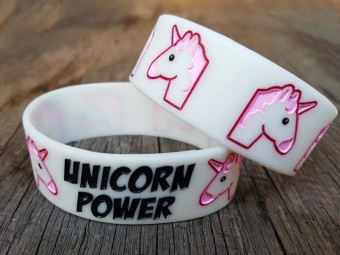 Einhorn Armband Leuchtend Unicorn Power
