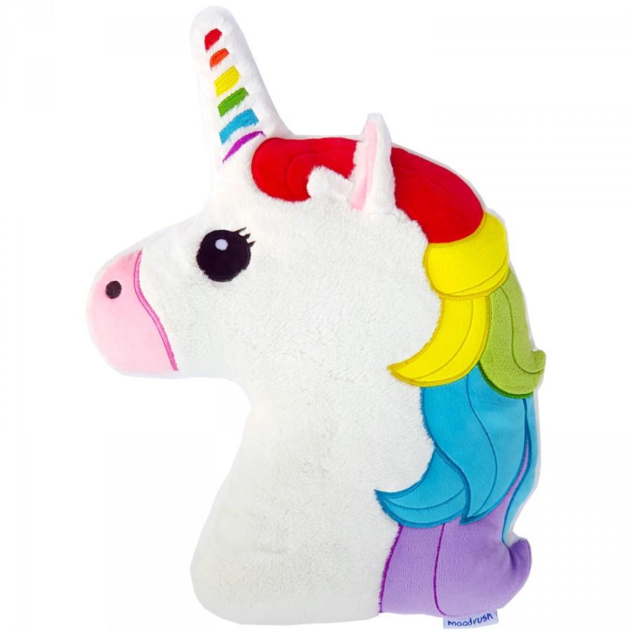 moodrush regenbogen einhorn kissen rainbow unicorn. Black Bedroom Furniture Sets. Home Design Ideas