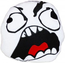 Fu Face Rage Guy Fuu Kissen Meme Plush