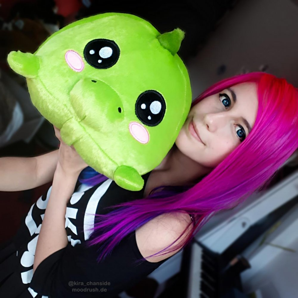 Mexify Dino Kissen Cute Girl Kira_Chanside