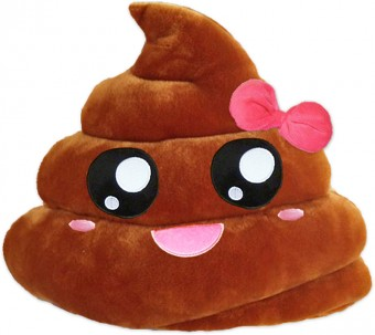 Poopy Poo Smiley Kissen Poop Emoticon Shop Shit Kacke