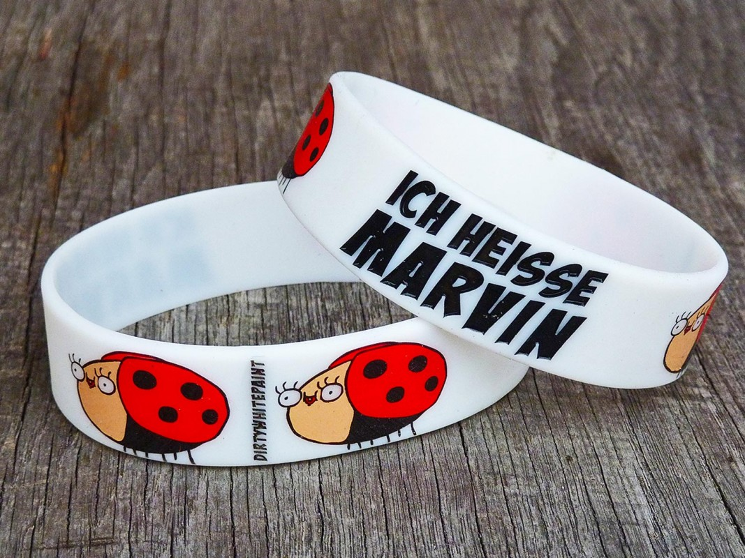 Ich heisse Marvin Armband Shop DirtyWhitePaint Fanshop Marvin