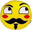 Mr Moustache Kissen Guy Fawkes Maske Anonymous Smiley Mustache Kuschelkissen Shop Bart Emoticon Awesome