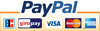 Secure and easy payment with PayPal