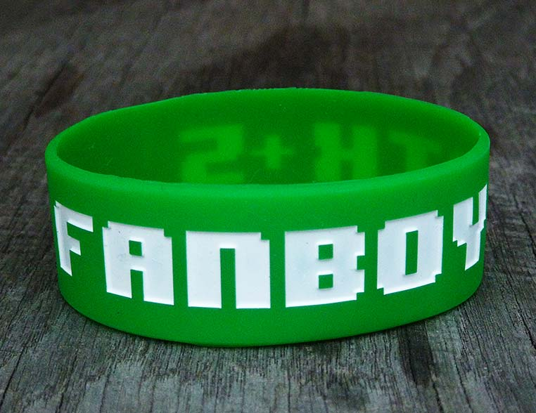 Fanboy Silikon Armband Wristband ChanUndso Applewar Fanboys Shop