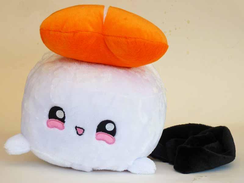 moodrush sushi kissen shrimpi smiley emoji sushi shop. Black Bedroom Furniture Sets. Home Design Ideas
